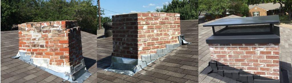 Rebuild Brick Chimney