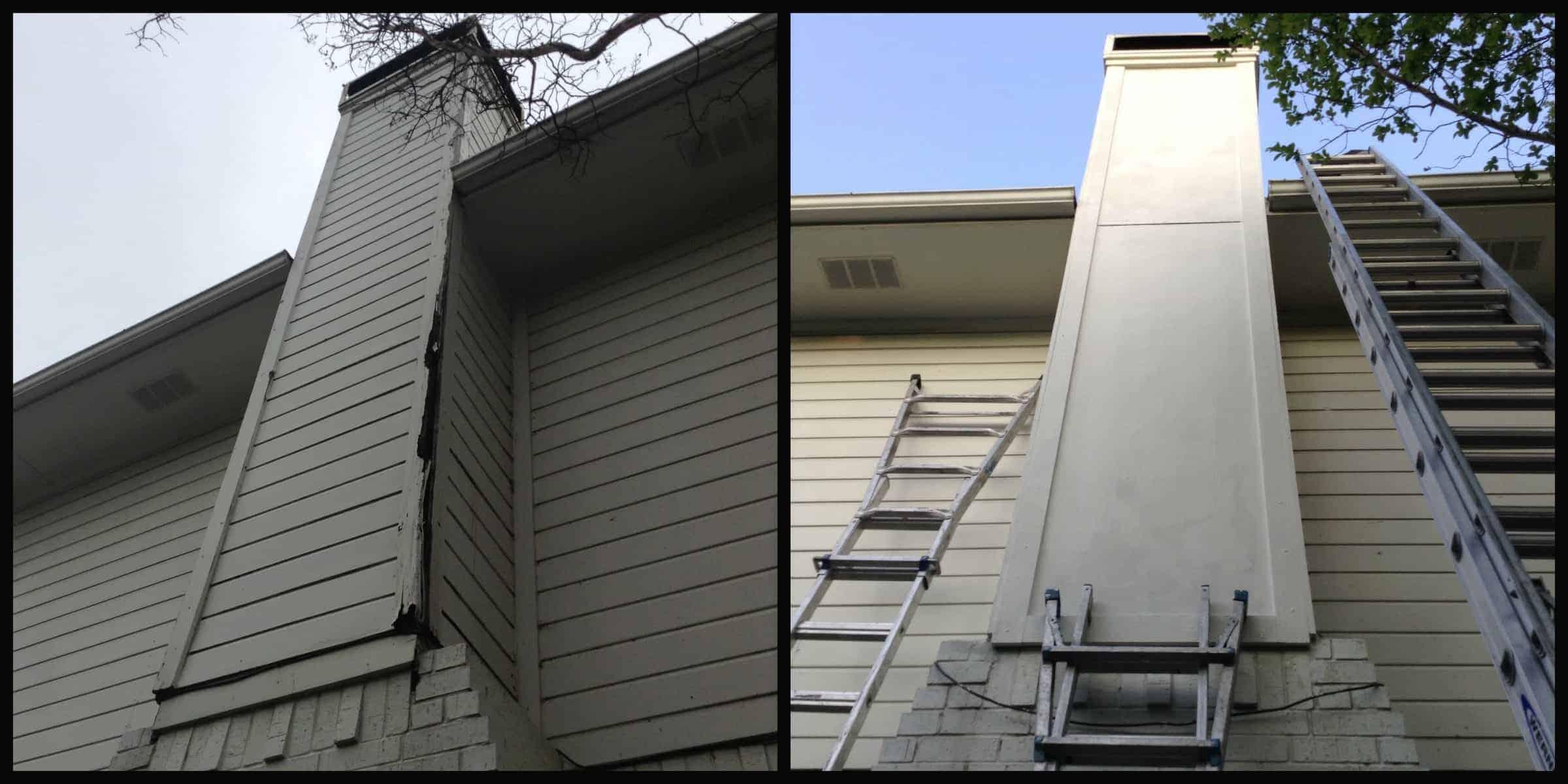 Rebuild before & after