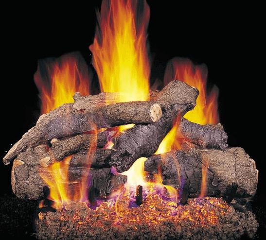 American Oak Logs