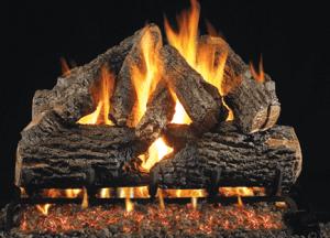 Charred Oak Gas Logs Picture
