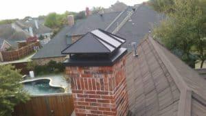 Hip chimney cap Custom created fro Customer