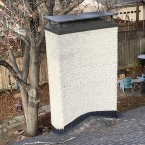 Rain chimney cap
