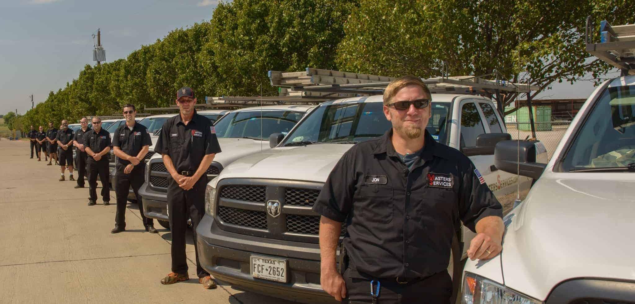 Chimney Sweep Dallas Technician Picture