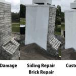 Custom Flashing Chimney Repair