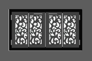 Cortana Fireplace Doors